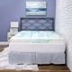 SensorPEDIC® 4-Inch Gel Swirl Memory Foam Twin Mattress Topper