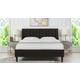 Aspen  Vertical Queen Tufted Modern Platform Bed