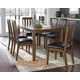 Puluxy Dining Room Table and Chairs (Set of 7)