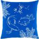 Surya Sea Life Pillow Cover