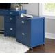 Linon Paige Rolling File Cabinet