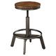Torjin Adjustable Height Bar Stool