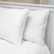 SensorPEDIC® Low Profile Hypoallergenic Flat Jumbo Bed Pillow 2 Pack