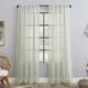 Clean Window Windowpane Plaid Anti-Dust Sheer 50