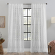 Clean Window Embroidered Trellis Anti-Dust Sheer 50