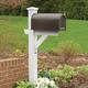 Highwood® Hazleton Outdoor Mailbox Post