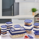 Better Chef 38-piece Plasticware Food Container Set