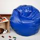 Ace Casual Large Vinyl Bean Bag, Blue