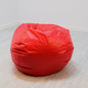 Ace Casual Large Vinyl Bean Bag, Red