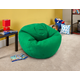ACEssentials Large Micro Suede Bean Bag Chair, Kelly Green
