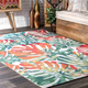 nuLOOM Contemporary Floral Janice 6' x 6' Rug