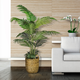 5-foot Areca Palm Tree in a basket