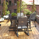 COSCO Outdoor Living COSCO Outdoor Furniture, Patio Dining Chair (Set of 6)