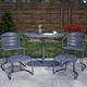 COSCO Outdoor Living Furniture 5-Piece Patio Bistro Set