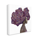 Stupell Industries  Female Portrait Strong Headwrap Purple Gold Culture Artwork, 36 x 36, Canvas Wall Art