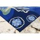 Home Accents Fortina Ocean Ballerina Indoor/Outdoor Rug 5' x 7'6