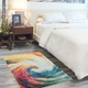 Nourison Celestial 3' X 5' Wave Abstract Rug