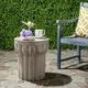 Reganne Concrete Accent Table