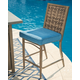 Partanna Bar Stool with Cushion (Set of 4)