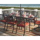 Tanglevale Dining Table with Umbrella Option