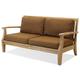 North Cape Laguna Teak Sofa with Sunbrella® Cushion