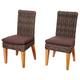 Millstone Teak/Wicker Chair Set (Set of 2)