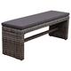 Amazonia 2-Seater Patio Bench