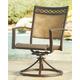 Carmadelia Sling Swivel Chair (Set of 2)