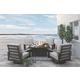 Cordova Reef Swivel Lounge Chair (Set of 2)