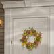 National Tree Company Multicolor Daisy Wreath