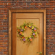 National Tree Company Floral Wreath