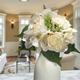 National Tree Company Cream Rose and Hydrangea Bundle