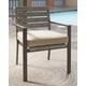 Peachstone Chair with Cushion (Set of 2)