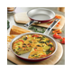 Ayesha Curry Home Collection Cookware Sienna Red Twin Pack: 9.25