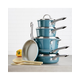 Ayesha Curry Home Collection Cookware Twilight Teal 11.25