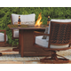 Zoranne Fire Pit Table