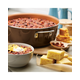 Ayesha Curry Home Collection Cookware Brown Sugar 7.5 Qt. Covered Wide Stockpot