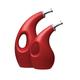 Rachael Ray Ceramics 2-Piece Set: EVOO and Vinegar Dispensing Bottles, Classic Red