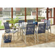 COSCO Outdoor Living Paloma Steel Patio Dining Chairs (Set of 6)