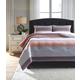 Anjanette 3-Piece King Comforter Set