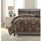 Amberlin 3-Piece Queen Comforter Set