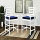 CorLiving  Miramar Outdoor Bar Height Chairs (Set of 2)