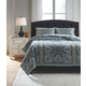 Myrtal 3-Piece Queen Quilt Set