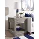 Modus Furniture International Herringbone Solid Wood  End Table