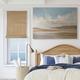Stupell Calming Creek Landscape Warm Tones Cloudy Sky 36 x 48 Canvas Wall Art
