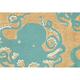 Home Accents Deckside 2' x 3' Sea Mollusk Indoor/Outdoor Doormat