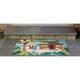 Home Accents Deckside 2' x 3' Tropics Indoor/Outdoor Doormat