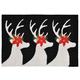 Home Accents 2' x 3' Winter Bucks Indoor/Outdoor Rug