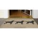 Home Accents Deckside 2' x 3' Furry Companions Indoor/Outdoor Doormat