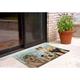 Home Accents Deckside 2' x 3' Popper Pups Indoor/Outdoor Doormat